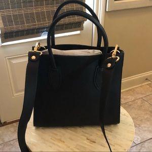Perfect black satchel